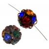 Rhinestone Bead 12mm Assorted Colors